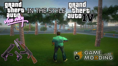 GTA 4 style для GTA Vice City