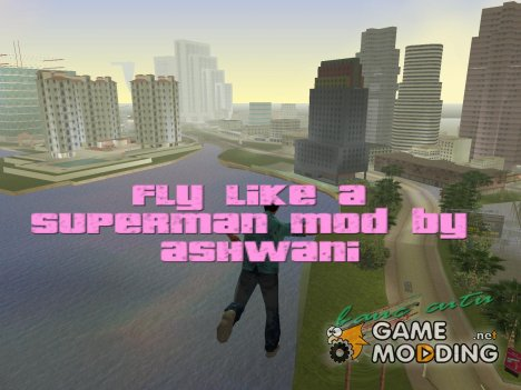 Superman mod for GTA Vice City