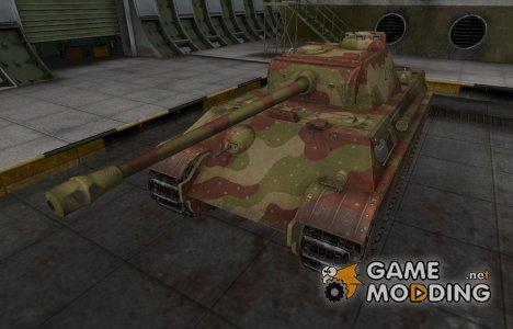 Исторический камуфляж Panther II для World of Tanks