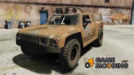 Hummer H3 raid t1 for GTA 4