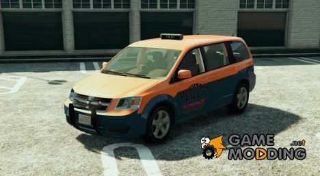 Dodge Grand Caravan Taxi 2008 1.2 for GTA 5