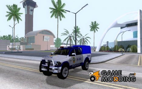 Dodge Ram Police México for GTA San Andreas