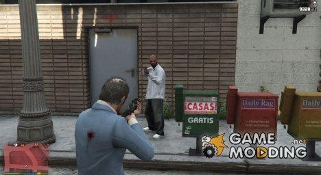 Disarm Peds  for GTA 5