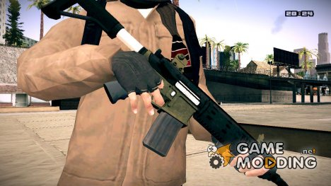 Carbine Rifle GTA V for GTA San Andreas