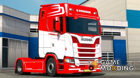 S.VERBEEK для Scania S580 for Euro Truck Simulator 2
