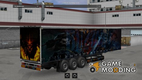 New Blizzard Trailer made by LazyMods for Euro Truck Simulator 2
