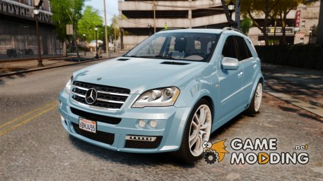 Mercedes-Benz ML Brabus 2009 для GTA 4