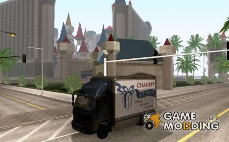 Charity Truck from Modern Warfare 3 для GTA San Andreas