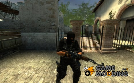 Black terror for Counter-Strike Source