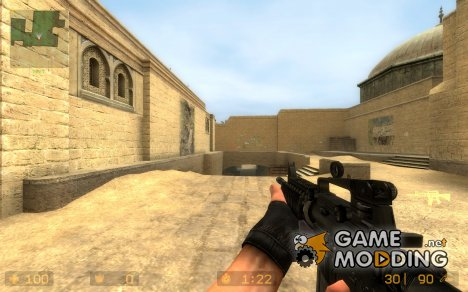Snark's M4A1 for Counter-Strike Source