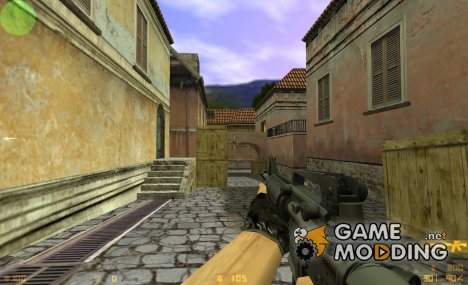 DMG's animations on Twinke's M4 for Counter-Strike 1.6