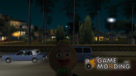 Маска Пряника из GTA V для GTA San Andreas