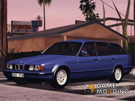 BMW E34 Touring Stock for GTA San Andreas