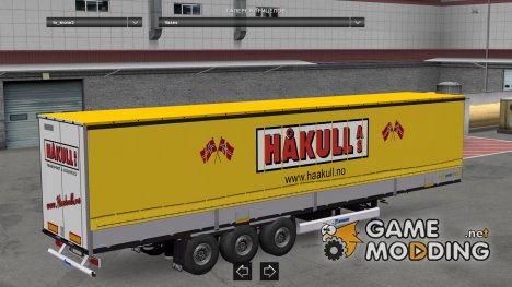Krone SDP27 Skinnable for Euro Truck Simulator 2