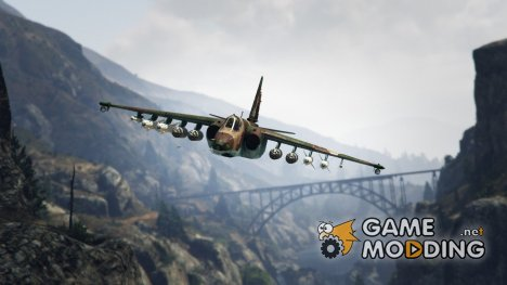 Su-25 для GTA 5