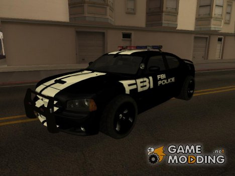 Dodge Charger SRT8 FBI Police для GTA San Andreas