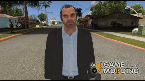 GTA V Trevor Coal Suit для GTA San Andreas