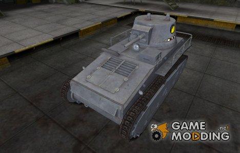 Мультяшный скин для Leichttraktor для World of Tanks