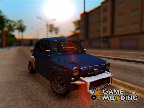 Fiat Abarth 1000TC Rally для GTA San Andreas