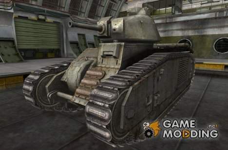 Ремоделинг PzKpfw B2 740(f) for World of Tanks