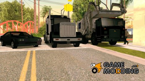 Пак стандартного транспорта в HD качестве for GTA San Andreas