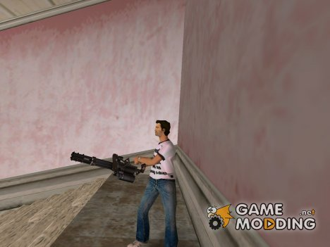 New Minigun для GTA Vice City
