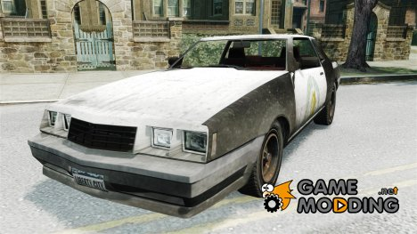 Полицейская раскраска для GTA 4