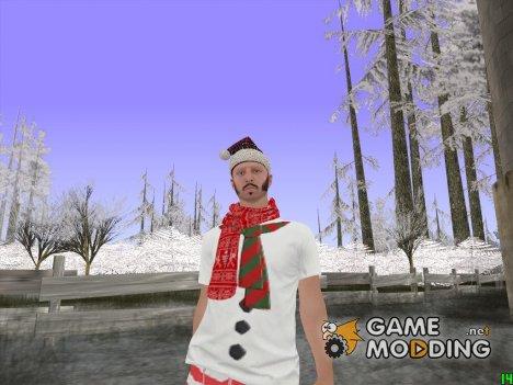Скин в одежде эльфа для GTA San Andreas