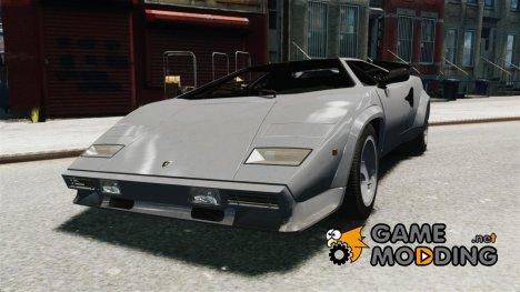 Lamborghini Countach LP500 1985 for GTA 4