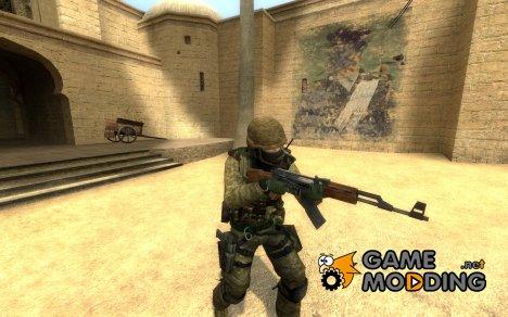 US Marines Desert Marpat для Counter-Strike Source