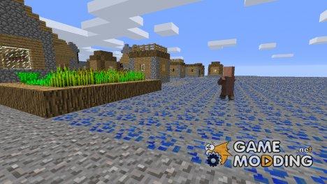 Выживание в мире Лазурита для Minecraft