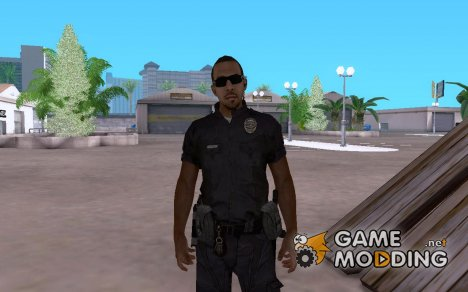 Полицейский из CoD: BO2 for GTA San Andreas