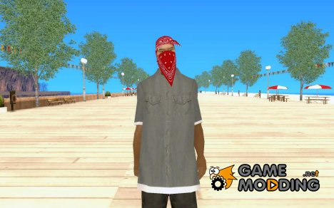 Скин гангстера for GTA San Andreas