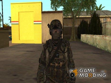 Автоматчик SEAL (мп), конверт из COD:BO2 для GTA San Andreas