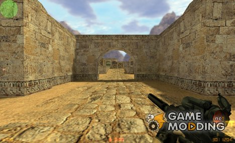 TMP with scope [default remix] for Counter-Strike 1.6