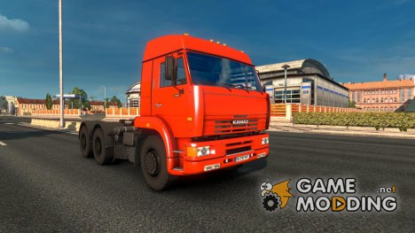 Kamaz 6460 Update for Euro Truck Simulator 2