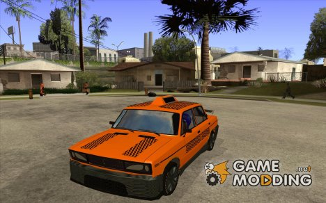 ВАЗ 2106 Такси тюнинг for GTA San Andreas