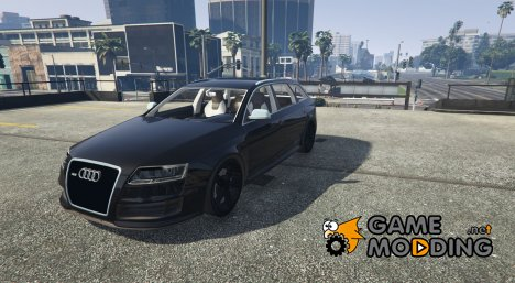Audi RS6 Avant 2009 C6 for GTA 5