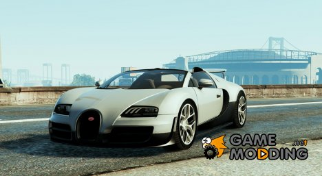 Bugatti Veyron Vitesse for GTA 5