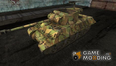 шкурка для M36 Slugger №17 for World of Tanks