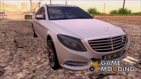 Mercedes Benz S350 Bluetec 2015 для GTA San Andreas