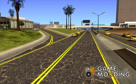 New Roads Las Venturas v1.0 для GTA San Andreas
