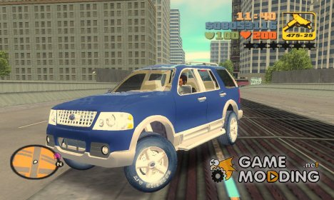 Ford Explorer for GTA 3