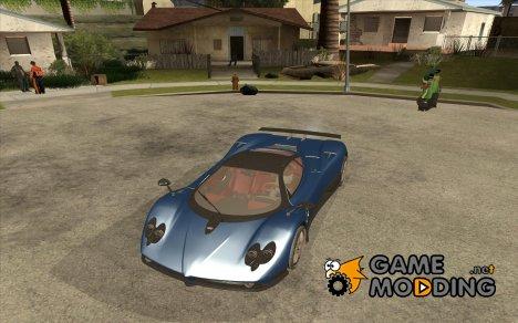 Pagani Zonda F V1.0 for GTA San Andreas