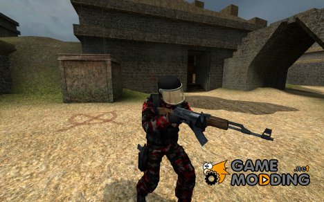 Dogs of War Heavy Weapons Specialist GIGN для Counter-Strike Source