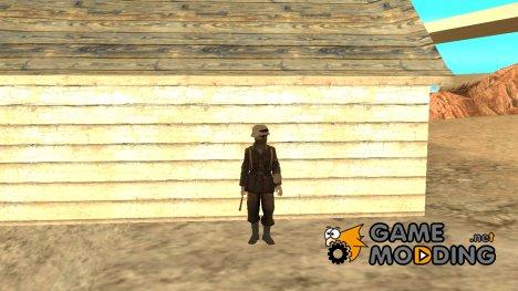 Боец Африканского Корпуса для GTA San Andreas