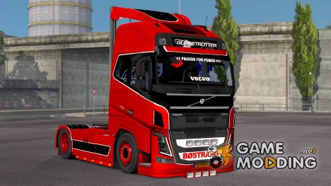Тюнинг для Volvo FH 2013 for Euro Truck Simulator 2