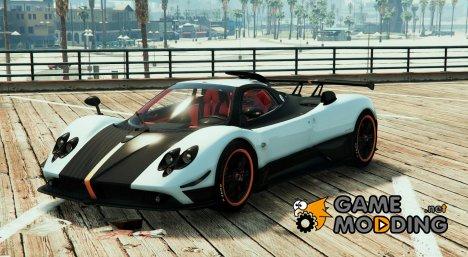 Pagani Zonda Cinque для GTA 5