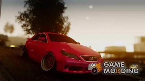 Toyota Mark X SLAMMED для GTA San Andreas