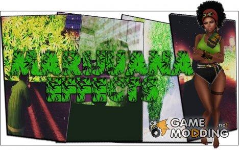 Marijuana Overdose Effects для GTA San Andreas
